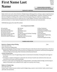 Resume Templates Engineering Engineering Resume Examples For Students Sample 9 Best Best