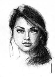 female face pencil drawings drawing art u0026 skethes