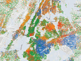 map of nyc mapping segregation the new york times