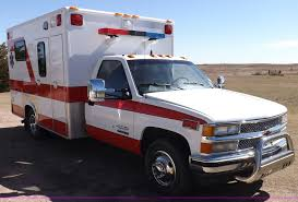 1991 chevrolet silverado c3500 ambulance item f6215 sold