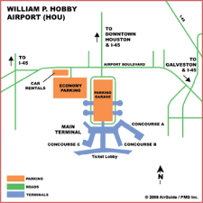 map houston airports airguide airports houston william p hobby airport