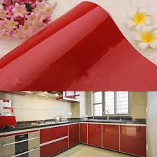 pvc kitchen cabinet doors amazon com yizun paper wall sticker gloss self adhesive vinyl