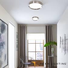 bespin led flush mount ceiling light tech lighting