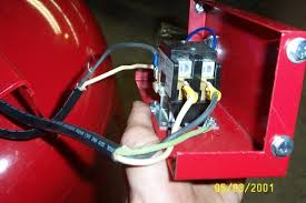 got a new air compressor but i need some help wiring it up