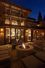 rustic home interior design ideas lake tahoe getaway features contemporary barn aesthetic