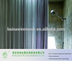 Shower Curtain Wire Room Divider Chain Link Decorative Metal Wire Mesh Shower Curtain