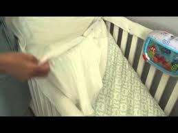 Mattress Cover For Crib Puregrace Crib Mattress Pad Review By Nadine Bubeck