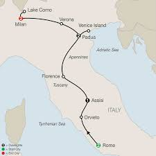 Italy Cities Map by Italy Tours Globus Italy Vacation Packages