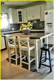 ikea kitchen island with stools stunning ikea stenstorp kitchen island hack we added grey quartz on