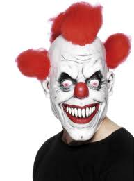 killer clown mask killer clown mask shop online funidelia