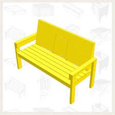 build a lazy bench free project plan the noble bench is used