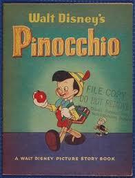 original production drawing pinocchio walt disney studios