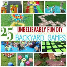 Diy Backyard Games by 25 Unbelievably Fun Diy Backyard Games For Kids