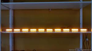warning light bar amber 38 sunlight traffic warning light bar led display best seller