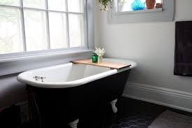 amazon com red oak wood bathtub tray honey caddy wooden