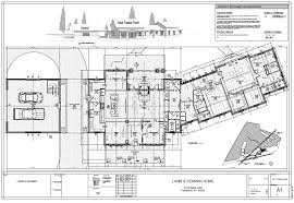 Pole Building Floor Plans Oldham County Home And Pole Barn Robbins Architecture