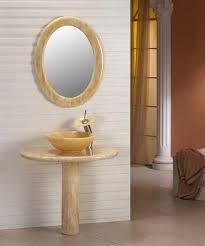 Vessel Pedestal Sink Dreamline Dlvnf V1 Hxox Rotunda Stone Pedestal Vanity Honey Onyx