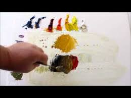 how to mix colors oil painting mixing earthtones youtube