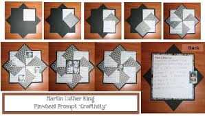 classroom freebies martin luther king day writing prompt craft