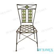 Wrought Iron Patio Furniture Manufacturers Wrought Iron Chair With Powder Coating Finish From Vietnamtriquimex