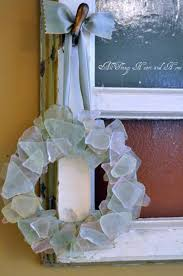 24 diy home decor ideas with colored glass and sea glass