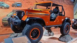 sema jeep yj sema show 2017 sema 2017 the all new 2018 jeep wrangler unveiled