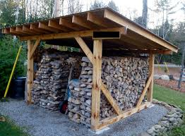 Building A Backyard Shed by Best 25 Firewood Shed Ideas On Pinterest Wood Shed Plans Wood