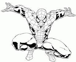 black white sketches spiderman black white sketches