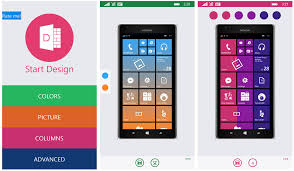 Start Design add a little color to your Windows Phone Start