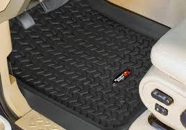jeep wrangler mats rugged ridge jeep wrangler all terrain floor liners