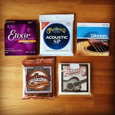Medium Light Guitar Strings by Top 5 Acoustic Guitar Strings November 2016 Equipboard