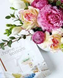 spring party decorations floral dresser top floral arrangement