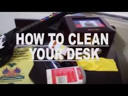 How To Clean Your Desk How To Clean Your Desk Youtube