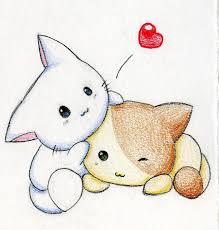kawaii kittens 3 by melifalco dibujos pinterest kawaii and