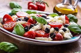 cuisine italienne caprese caprese salad salade italienne salade méditerranéenne