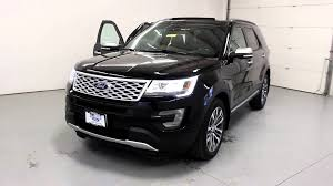 ford crossover black tri state quick looks 2016 ford explorer platinum black youtube