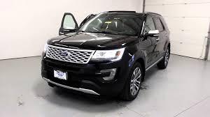Ford Explorer Platinum - tri state quick looks 2016 ford explorer platinum black youtube