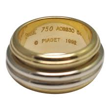 piaget ring piaget possession 18ct gold band ring plaza jewellery