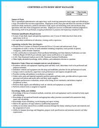 Fleet Manager Resume Delivering Your Credentials Effectively On Auto Mechanic Resume