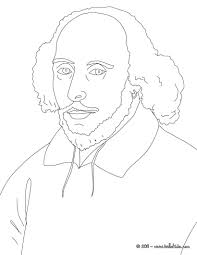 william shakespeare coloring pages hellokids com