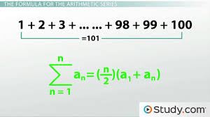 how to calculate an arithmetic series video u0026 lesson transcript