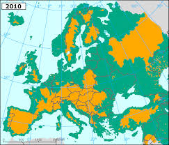 Google Map Of Europe by Map Of European Rivers Popular River 2017