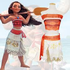 Princess Halloween Costumes Kids Compare Prices Princess Moana Costume Shopping Buy