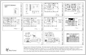 Reflected Floor Plan by Mary Carney Drafting And Autocad Drafting By Mary Carney At