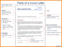 parts of cover letter cerescoffee co