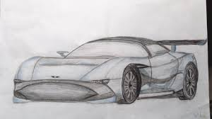sketch 5 aston martin vulcan from front side by avaphil on deviantart
