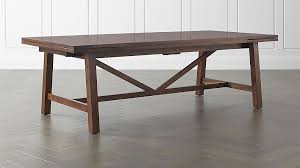 Crate And Barrel Office Desk Heritage Dining Table Crate And Barrel