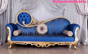 Blue Chaise Lounge The Best Blue Patterned Chaise Lounge