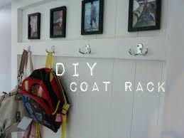 small foyer coat rack shoe front door hangers entry bench with