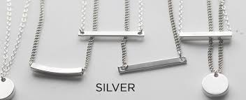 long silver fashion necklace images Silver fashion jewelry for women black and noir jewelry blk and noir jpg